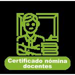Certificado Nómina Docentes