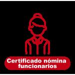 Certificado Nómina Funcionarios