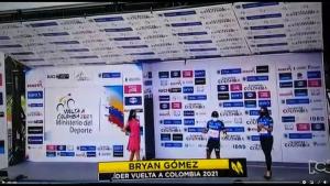 Felicitaciones al tulueño Bryan Gómez perteneciente al equipo Súper giros felicitaciones