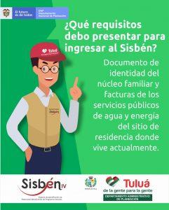 ¿Qué requisitos debo presentar para ingresar al Sisbén?