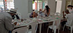 El gobierno de la gente para la gente a través de la Secretaria de Bienestar Social, coordinación de centros de protección al adulto mayor, se continúa trabajando con la estrategia Abuelarte.