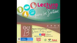 PALABRA BIBLIOTECA, LECTURA PARA LOS SENTIDOS